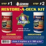 Restore a deck cleaning kit